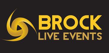 Brock Live Events